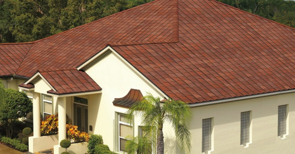 Amazing shingles that look like tile for Metal roof that looks like spanish tile