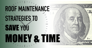 Roof Maintenance Strategies to Save You Money AND Time