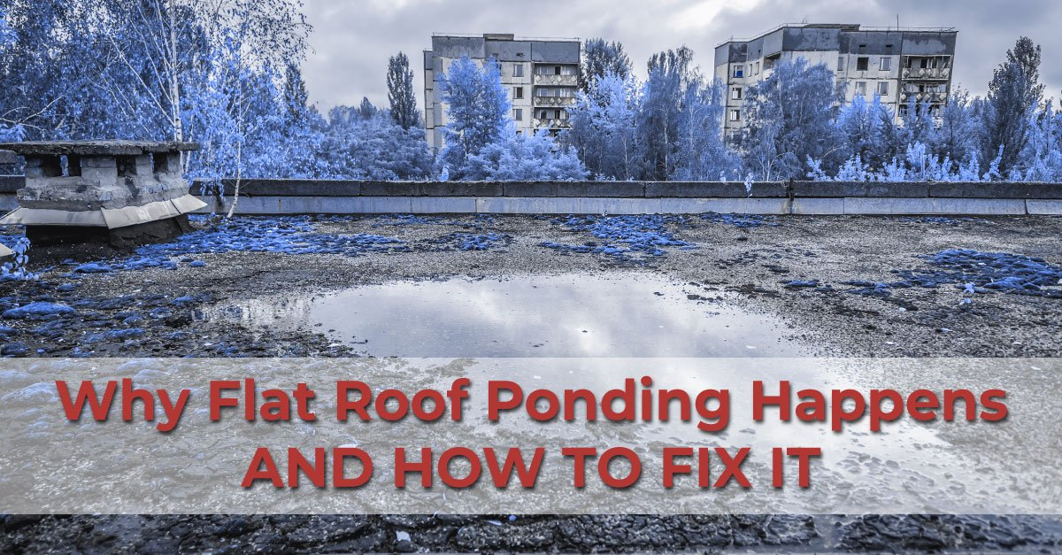 Why Flat Roof Ponding Happens And How To Fix It